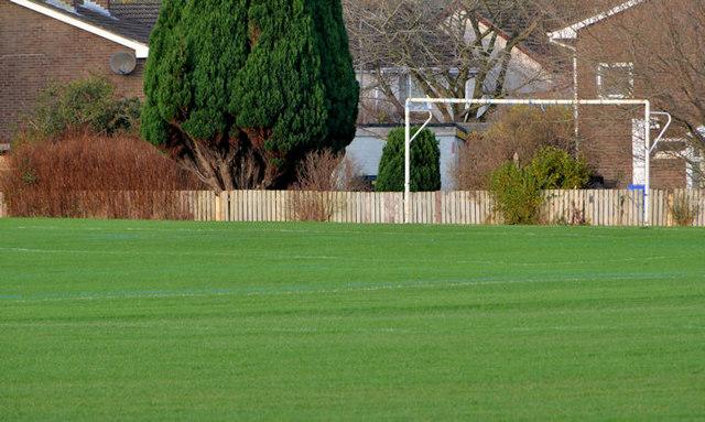 Goalposts, West Winds, Newtownards
