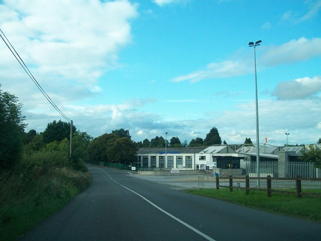 The Gyproc Plaster Mill on the R162 south of Kingscourt