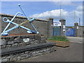 SM9603 : Pembroke Port - gate 1 by Chris Allen