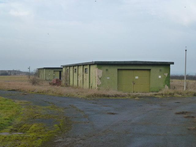 MOD buildings close to RAF Wyton