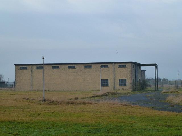 MOD building close to RAF Wyton, Cambridgeshite