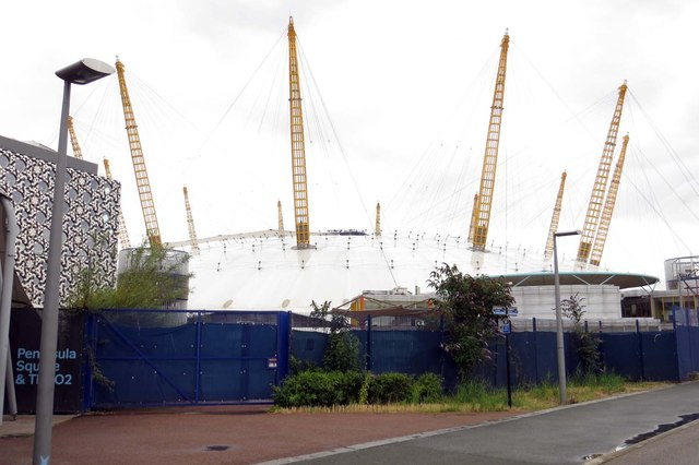 The O2 Arena in North Greenwich