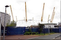 TQ3980 : The O2 Arena in North Greenwich by Steve Daniels