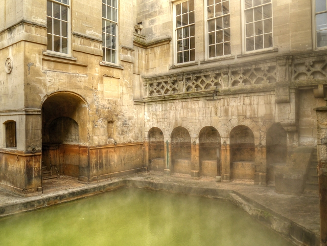 Roman Baths - The King's Spring