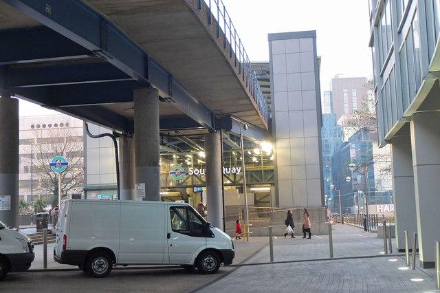 Docklands Light Railway South Quay station