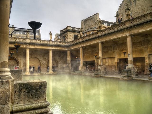 The Roman Baths - The Great Bath