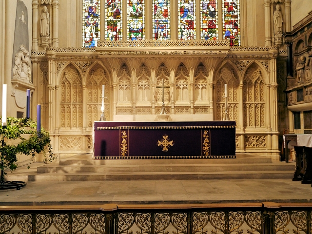 Bath Abbey, High Altar and Reredos