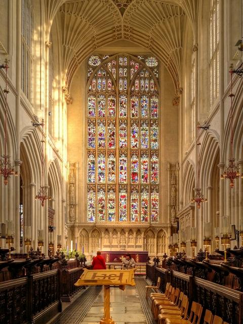 Bath Abbey, East Window