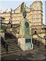 ST7564 : Edward The Peacemaker, Parade Gardens by David Dixon