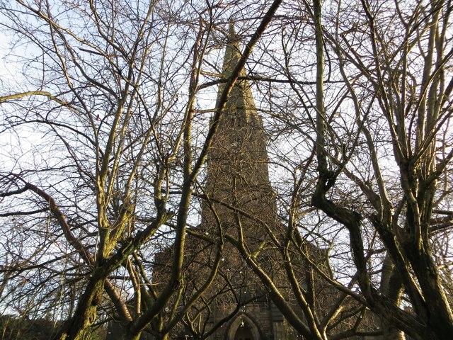 Spire of St. Paul's Church