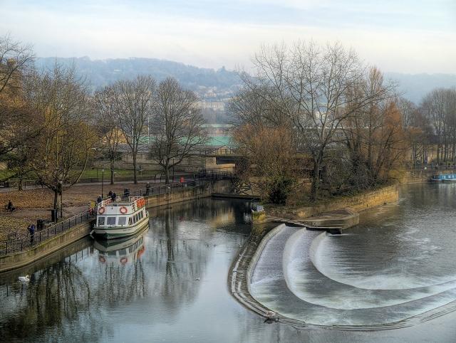 Pulteney Weir, Bath