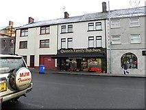 H6357 : Quinn's Family Butchers, Ballygawley by Kenneth  Allen