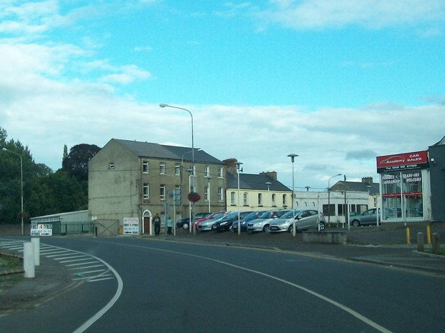Circular Road approaching the junction with Academy Street, Navan