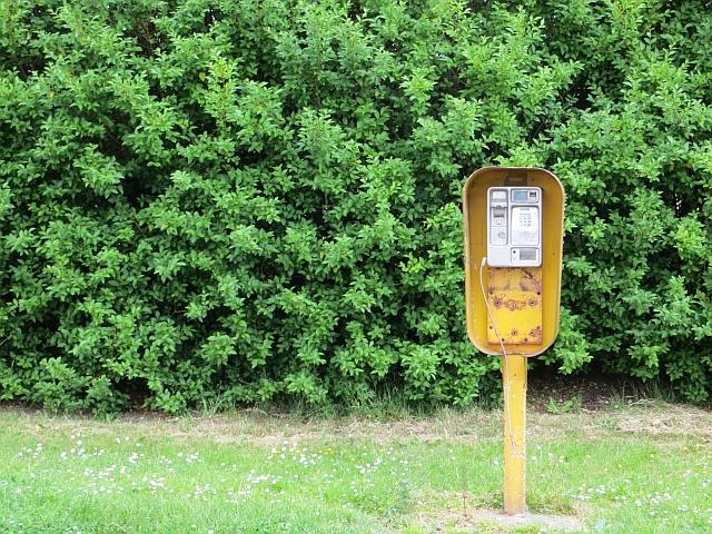 Telephone box, Ravensworth Road