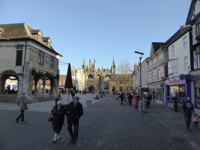 Guildhall and Cathedral Square