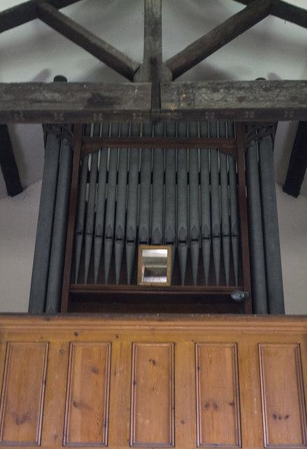 Organ, St Martin's church, Stubton
