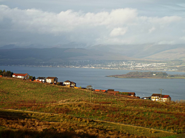 Dougliehill and the Firth of Clyde