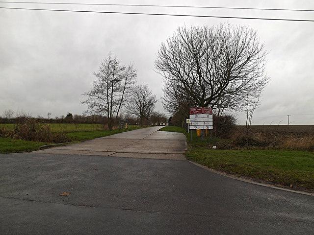 Entrance to Glebe Farm Campus
