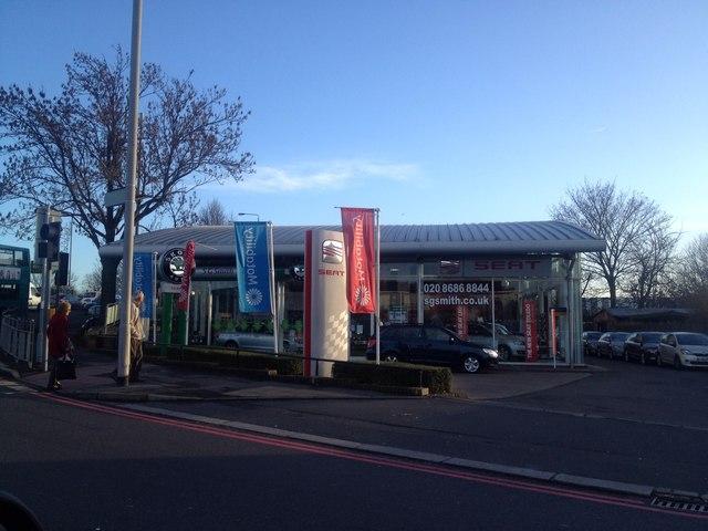 SG Smith car dealership, Croydon