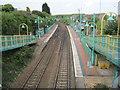 SK5056 : Kirkby in Ashfield railway station, Nottinghamshire by Nigel Thompson