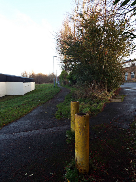 Site of the Princes Pier railway line