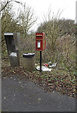 TL2460 : Telephone kiosk & Croxton village postbox by Adrian Cable