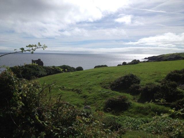 Downeen Coastline (Downeen Castle Visible)