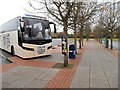 SO8940 : Coach Park, Strensham Service Area by David Dixon