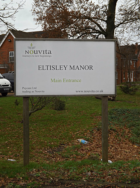 Eltisley Manor sign