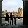 TL4458 : Tourists at Trinity by John Sutton