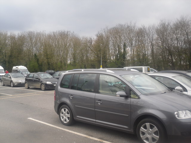 Car park, Leigh Delamere services Eastbound
