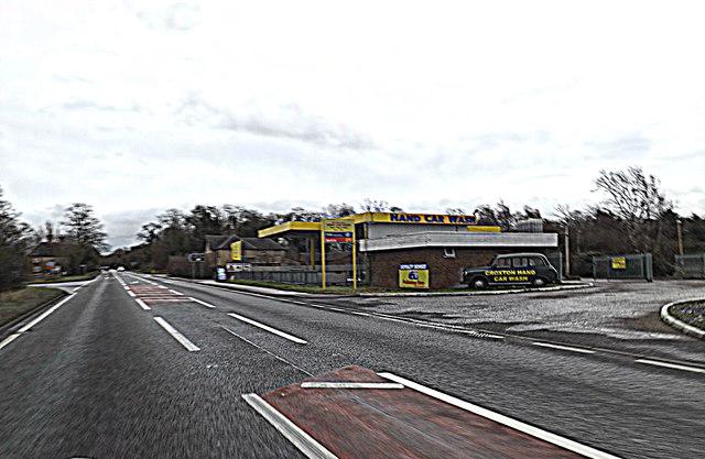 A428 Cambridge Road, Croxton