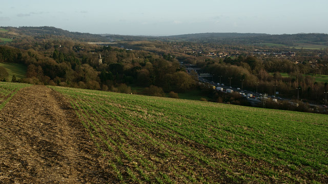 View From Ashstead Hill, Surrey