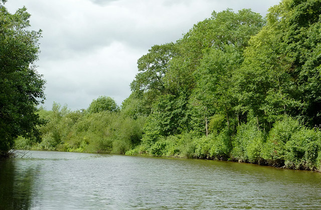River Severn north of Lincomb Lock, Worcestershire