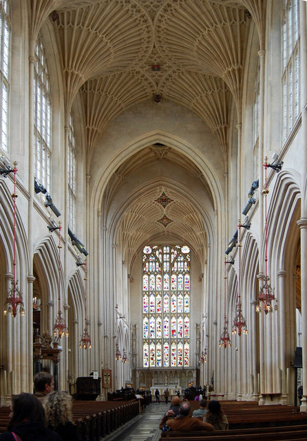 The Nave, Bath Abbey