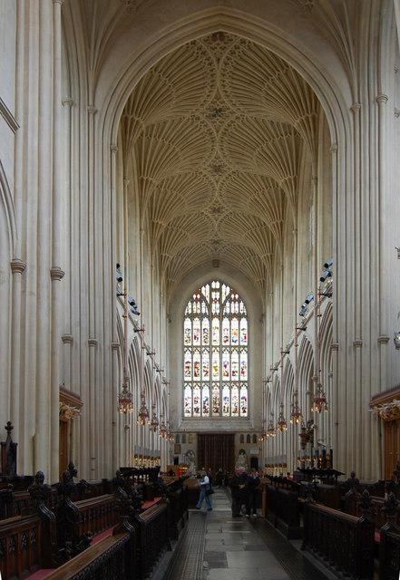 The Nave, Bath Abbey