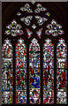 TQ9017 : Stained glass window, Winchelsea church by Julian P Guffogg