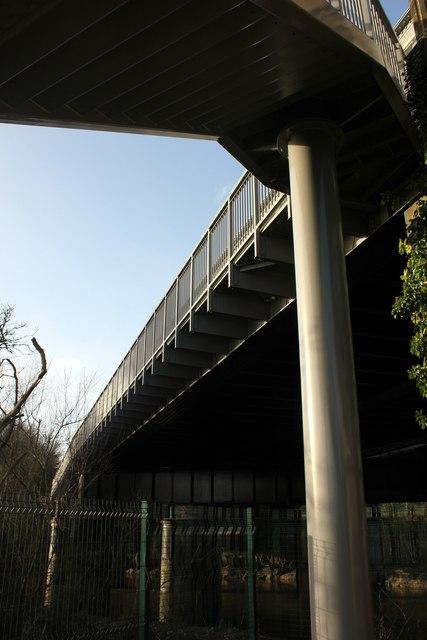 The New Roodee Footbridge