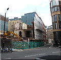 TQ2979 : Vandon Hotel being demolished by PAUL FARMER