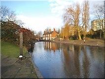 SO9199 : Broad Street Basin by Gordon Griffiths