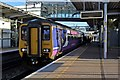 SJ4084 : Northern Rail Class 156, 156421, Liverpool South Parkway railway station by El Pollock