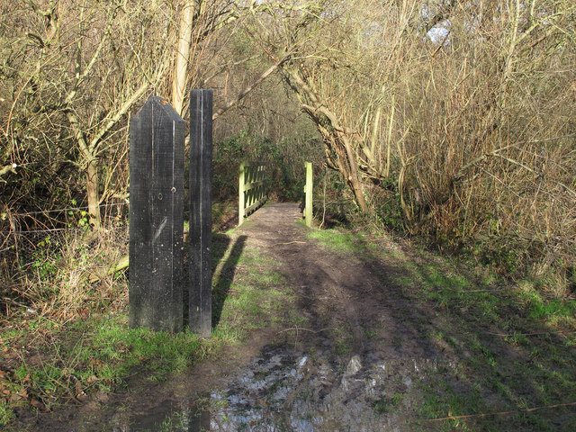 Entrance to  Running Water Wood