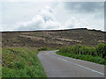SW4738 : High ground above the B3306 by Robin Webster
