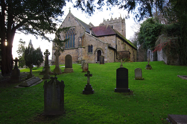 St Wilfred's church, Halton