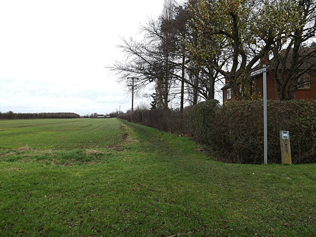 Footpath to St.Neots Road