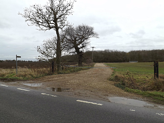 Footpath to Potton Road