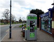 SO7845 : Free cash machine, Barnards Green Road, Malvern by Jaggery