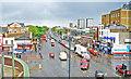TQ3682 : Mile End Road, 2000 by Ben Brooksbank