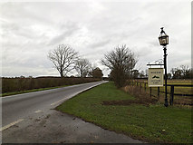 TL2657 : Eltisley Road, Great Gransden by Adrian Cable
