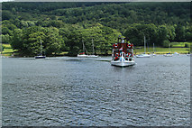SD3787 : Cruise Boat Tern Windermere by edward mcmaihin